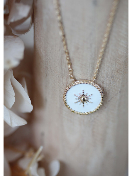Collier Isabelle White