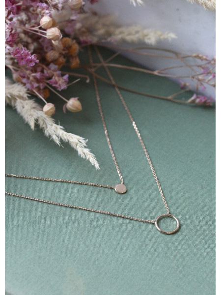 Collier double Louison